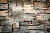 image of shingles  - Close up abstract of wood shingles texture and background - JPG
