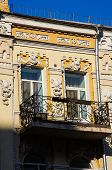 picture of art nouveau  - Architecture of the end of 19th century and beggining of 20th centure in art nouveau style in Kiev Ukraine - JPG