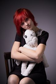 picture of rag-doll  - Red - JPG