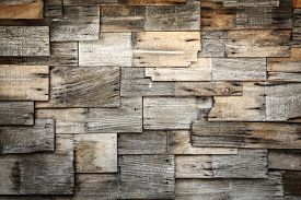 stock photo of shingles  - Close up abstract of wood shingles texture and background - JPG