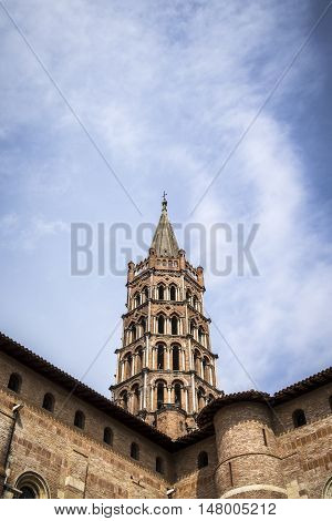 St. Sernin Basilica In Toulouse France