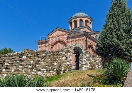 Panorama of Medieval Monastery St. John the Baptist, Kardzhali,  Bulgaria