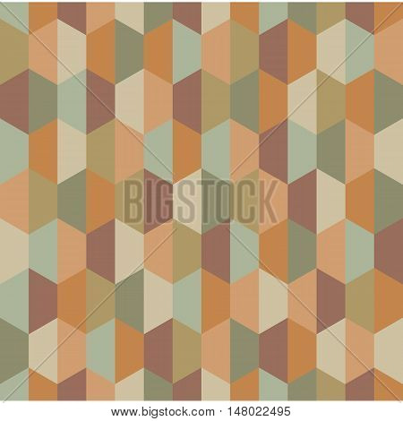 Vector modern seamless colorful geometry half hex pattern, color abstract geometric background