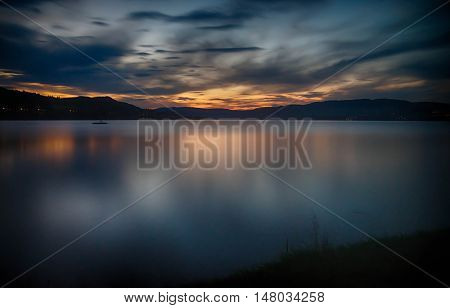 Sunset In Norway Tourism Travel