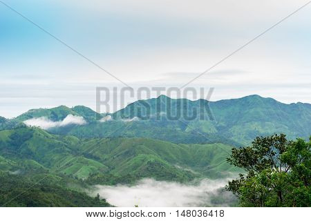 Beautiful Nature And Sky For Unseen Thailand And Top Travel At Thong Pha Phum National Park Kanjanab