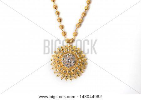 Close Up Shiny Gold  Jewelery
