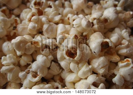 popcorn background eat food fast texture corn