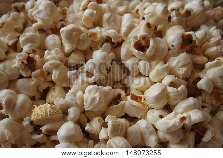 popcorn background fast food snack texture eat