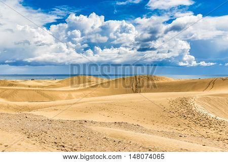 Maspalomas Sand Dunes - Maspalomas Gran Canaria Canary Islands Spain