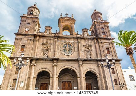 Cathedral of Santa Ana - Las Palmas Gran Canaria Canary Island Spain Europe