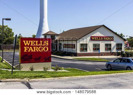 Ft. Wayne - Circa September 2016: Wells Fargo Retail Bank Branch. Wells Fargo is a Provider of Financial Services XI