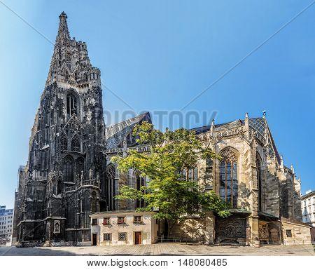 St. Stephen's Cathedral, Vienna.  Austria.