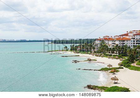 South Beach Skyline/ Miami, Florida Vacation Fisher Island
