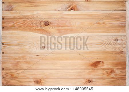 Texture of the wood unpainted pine boards