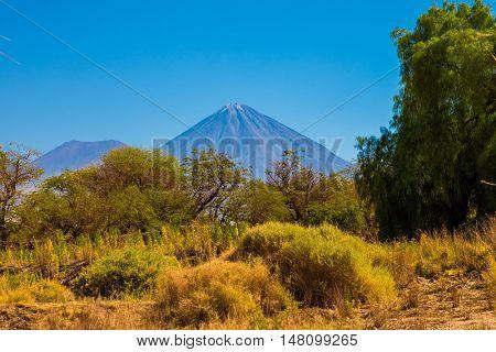 Licancabur Volcano in Atacama, Chile