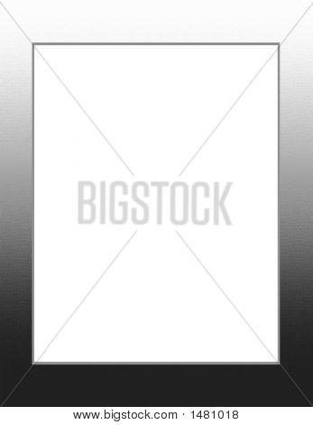 Black And White Textured Frame