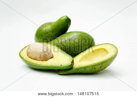 The Avocado Fruits rich in vitamin E