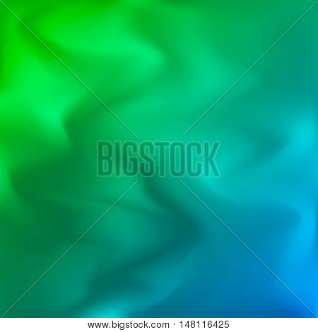 Vector colorful blurry background. Abstract texture. Modern blue beautiful backdrop