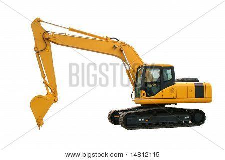 Máquina escavadora