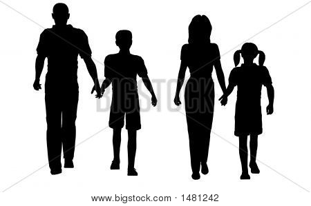Walking Family