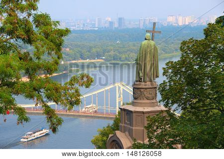 St Vladimir Staue. Kiev, Ukraine