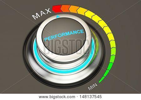 Highest level of performance concept 3D rendering