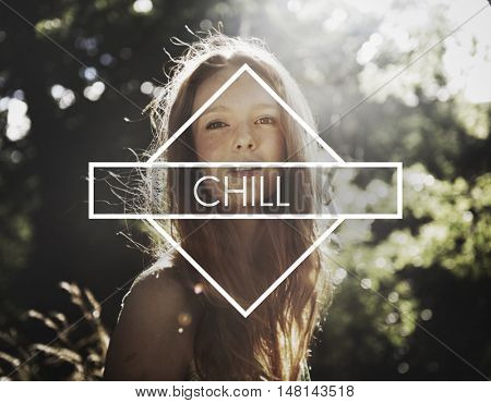 Chill Out Cool Chic Fresh Expression Inspire Concept