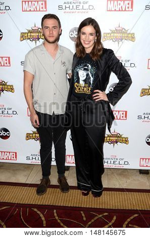 LOS ANGELES - SEP 19:  Iain De Caestecker, Elizabeth Henstridge at the