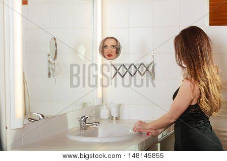 Young Girl Making Makeup