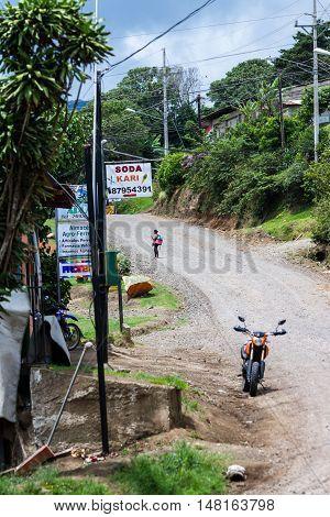 Rural Town In Costa Rica