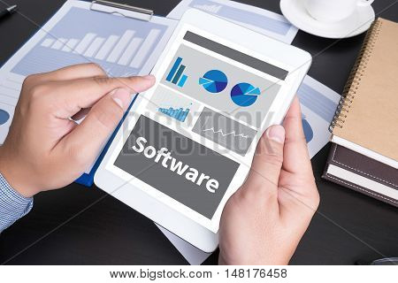 Software Data Digital Programs System Technology Computer