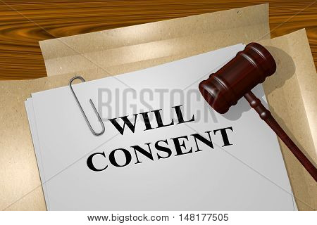 Will Consent - Legal Concept