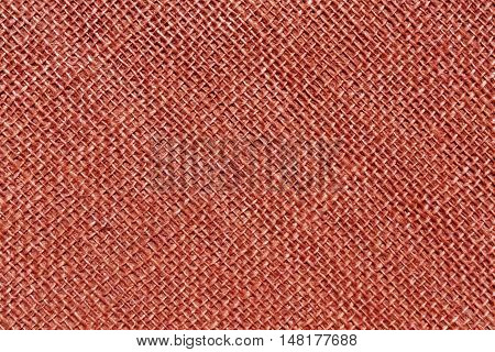 Red Sack Cloth Texture.