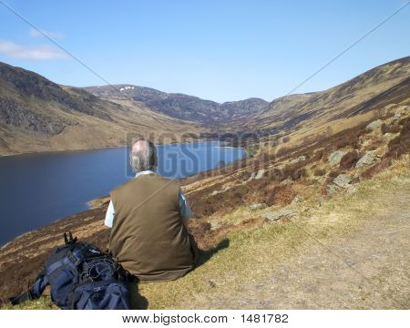 Loch Turret In Perthshire, Scotland 6