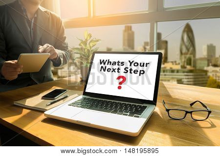 Whats Your Next Step? Concept