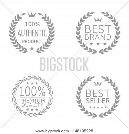 Laurel wreath badge set Authentic product Best brand Best seller Premium quality