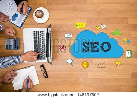 Business Team, Seo Concepts
