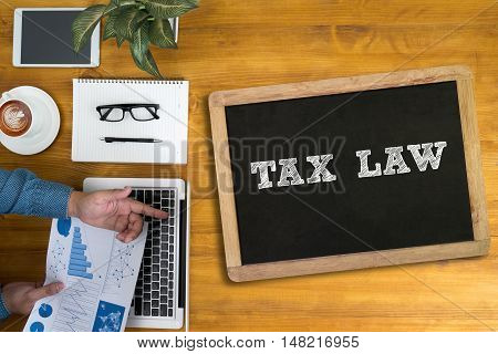 Tax Law  Concept