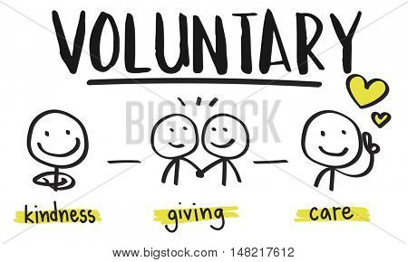 Charity Donations Fundraising Nonprofit Volunteer Concept