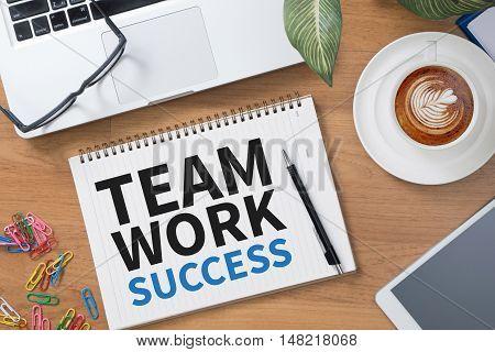 Teamwork Success Concept