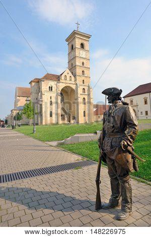 St. Michael's Cathedral in Romania Alba Iulia fortress