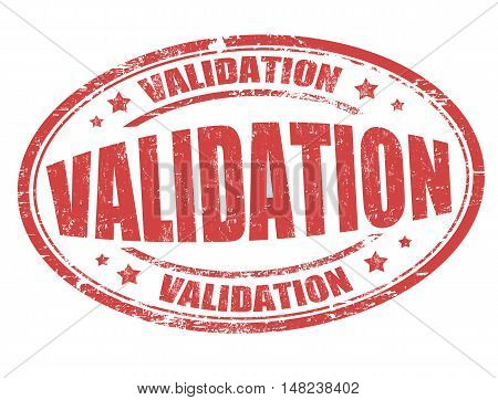 Validation Sign Or Stamp