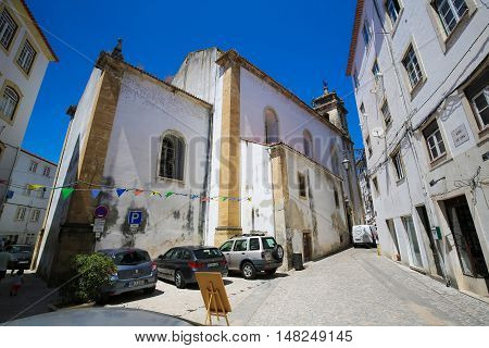 St Bartolommeo Church In Coimbra, Portugal