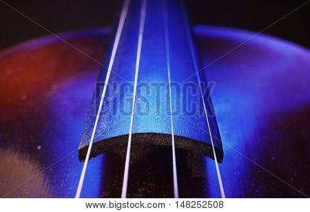 Old Violin Neck Details
