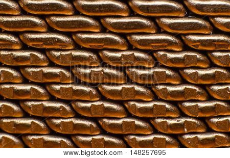 Close-up. Chains or watchband. use for background