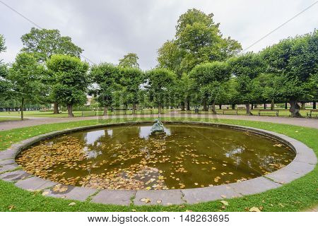 The Famous Kongens Have Near Rosenborg Slot, Copenhagen
