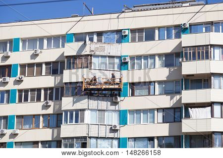 Builders Repair The House