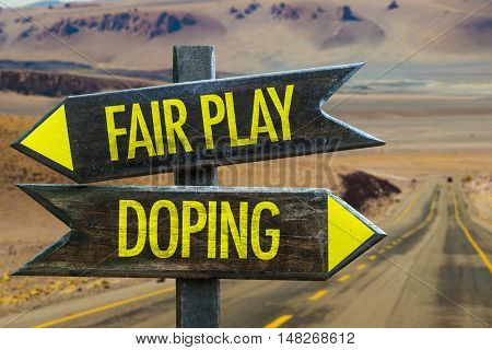 Fair Play vs Doping