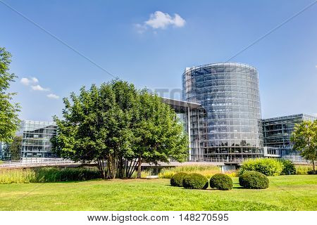 Transparent Factory In Dresden