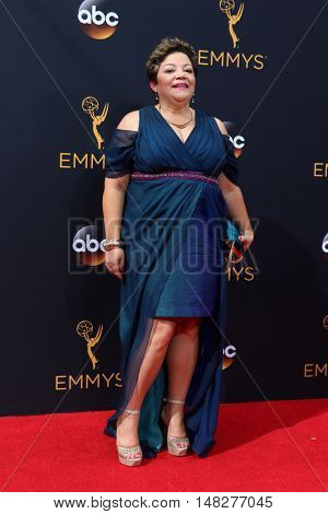 LOS ANGELES - SEP 18:  Sol Miranda at the 2016 Primetime Emmy Awards - Arrivals at the Microsoft Theater on September 18, 2016 in Los Angeles, CA